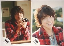 Yuya Tegoshi 手越祐也 NEWS Tegomass Official PHOTO SET (2 Pieces) R113114