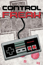CONTROL FREAK VIDEO GAME SPOOF NINTENDO single 24x36 poster BRAND NEW NEVER HUNG