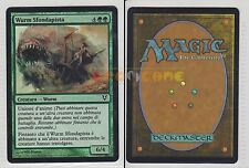 MTG MAGIC FOIL Wurm Sfondapista, Pathbreaker Wurm - AVR - 2012 ITALIANA EXC