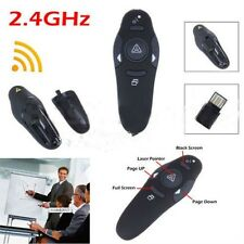 2.4GHz Wireless Presenter USB Remote Control Presentation Mouse Laser Pointer~WK