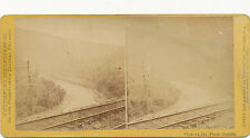 Purviance's PA Central RR Stereoview ca. 1870 * Pack Saddle #715 Westmoreland Co