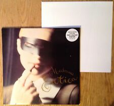 "Madonna  Erotica  1992 UK 12"" + Colour Poster  Exc/N.Mint"