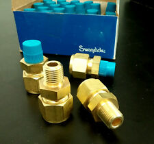 """Swagelok Male Connector 1/2"""" Tube x 1/4"""" Male Pipe Brass"""