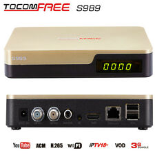 Tocomfree S989 Free IKS SKS Digital Satellite Receiver TV Box for Latin America