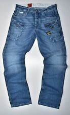 G-STAR RAW - Nattacc Straight Herren Jeans Medium Aged - W33 L34 Neu !!!