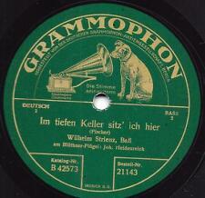 Wilhelm Strienz 1927  : Der schlesische Zecher