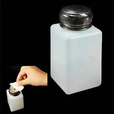 New Portable Empty Pump Dispenser For Nail Art Polish Acrylic Liquid Bottle