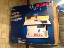 Bosch Benchtop Router Table with Smooth Work Surface Dust Collections RA1171 NIB