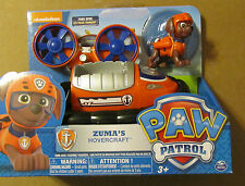 Nickelodeon PAW PATROL ZUMA'S HOVERCRAFT with figure ~ NIP ~ ZUMA
