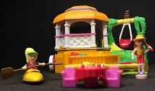 Polly Pocket Mini ��  1998 Polly Pocket Canoe Fun Action Park - 99%