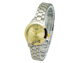 -Casio LTP1128G-9A Ladies' Metal Fashion Watch Brand New & 100% Authentic