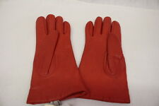 NWT VINTAGE Carson Pirie Scott RED Lined Winter Gloves, Ladies Size 6.5