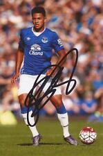 EVERTON: TYIAS BROWNING SIGNED 6x4 ACTION PHOTO+COA