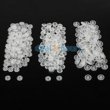 100 Sets Clear Size 20 T5 KAM Resin Snap Buttons For Cloth Baby Bib Diaper