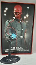 Genuine 1/6 Hot Toys First Avenger Captain America Red Skull base & stand MMS167