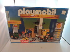 1998 Playmobil Shell Service Gas Station #3014, w orig box & manual, near comp