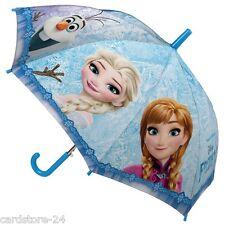 Disney Frozen Kinder Regenschirm 80cm Schirm Sonnenschirm Eiskönigin Anna Elsa