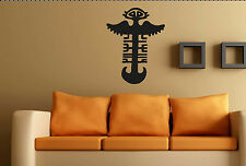 TRIBAL WALL ART no9. Custom decal vinyl sticker Large Aztec Mayan Mural transfer