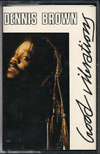 Dennis Brown - Good Vibrations Cassette - SEALED - New Copy - Reggae