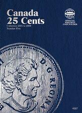 Canada 25 Cents No. 5, 2001-2009, Whitman Coin Folder