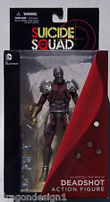 DC COMICS SUICIDE SQUAD. DEADSHOT. THE NEW 52 ACTION FIGURE. NEW IN BOX. 6 INCH