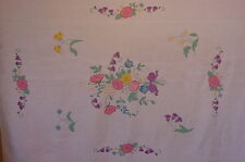 ANTIQUE APPLIQUE QUILT FLORAL SATURATED QUILTING 370 MORE IN R EBAY STORE