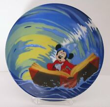"""MICKEY MOUSE """"MAGIC WHIRLPOOL""""  PLATE"""