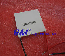 TEC1-12706 Heatsink Thermoelectric Cooler Cooling Peltier Plate  12V 60W M3
