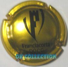 CAPSULA SPUMANTE / PLAQUES / PLACA DE CAVA / Franciacorta oro e nero (97)