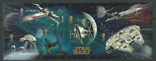 GREAT BRITAIN 2015 STAR WARS MINIATURE SHEET NO BARCODE FINE USED