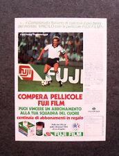 I888-Advertising Pubblicità - 1984 - PELLICOLE FUJI E RUMMENIGGE
