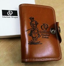 Fashion Men's Leather LONG Wallet Pockrts ID Card Clitch Cente Bifold Purses