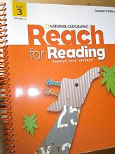National Geographic Reach for Reading, Grade 1, Unit 3 Teacher's Edition, 2013