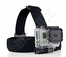 Adjustable Elastic HeadStrap Head Strap Mount Belt for GoPro hero 1 2 3 3+ 4