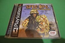Spec Ops: Airborne Commando Sony PlayStation 1 2002 PS1 CIB NM Shooter Action!