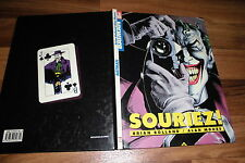 BATMAN COMIC -- SOURIEZ // Hardcover 1. Auflage 1989 / Brian Bolland+Alan Moore