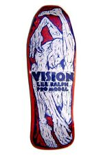 Vision Lee Ralph CONTORTIONIST CONCAVE Skateboard Deck RED STAIN/WHITE