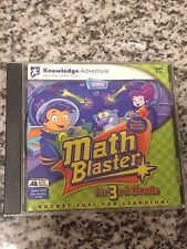 Knowledge Adventure Software - Math Blaster - Ages 7-9 PC or Mac - Free Ship