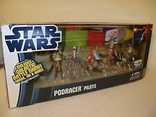 Star Wars Clone Wars Podracer Pilots Galactic Battle Game Toys R Us Exclusive