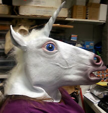 Unicorn Mask - New in package - Dress up Adult size Mask - Cute Unicorn head!