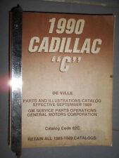 GM CADILLAC - Eldorado Seville 1992 1993 : parts catalog