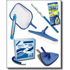 Pool Maintenance Kit Above Ground Swimming Supplies Cleaning Skimmer Vac Head