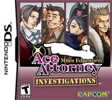 Ace Attorney Investigations: Miles Edgeworth (Nintendo DS NDS DSi Court) NEW