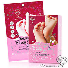 [MY SCHEMING] Brightening Baby Foot Mask Exfoliating Peeling Foot Mask 1pc/box