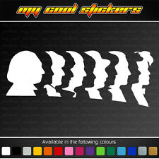 11 Doctors - Doctor Who Vinyl Sticker Decal for car, ute, truck, window