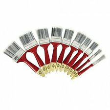 10 piece Paint Brush Set Synthetic Bristles with Tipped Ends