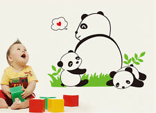 Cute Lovely Chinese Panda Wall Decal Sticker Kids Baby Living Room Sticker Decor