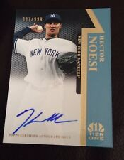 2011 TOPPS TIER ONE HECTOR NOESI AUTO AUTOGRAPH 987/999 NICE