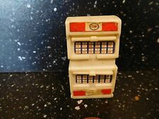 "MODEL ESSO 1 OIL CABINET  1 7/8"" HIGH WITH ESSO DECALS"