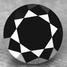 Gia Certified 1ct Loose Jet Black Diamond